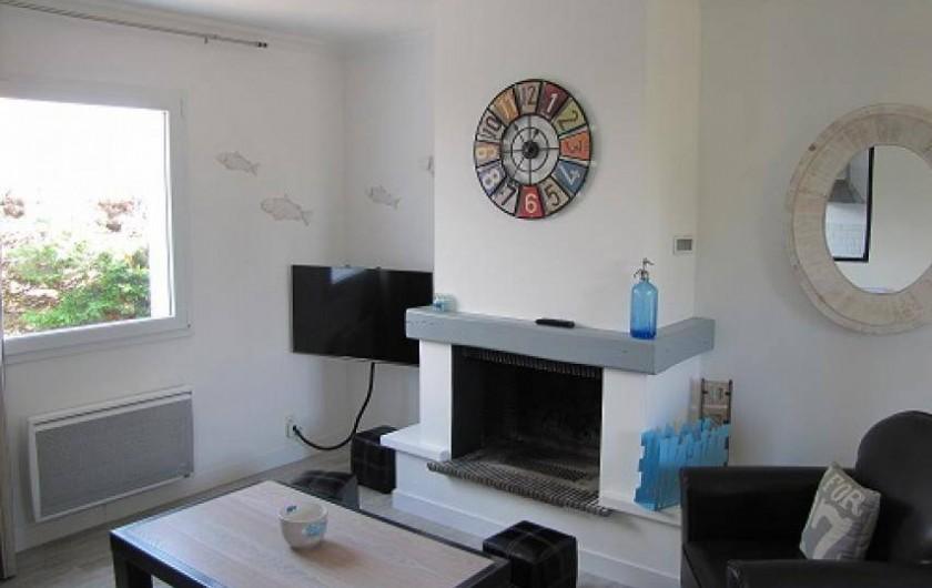 Location de vacances - Villa à Plouhinec - Le salon