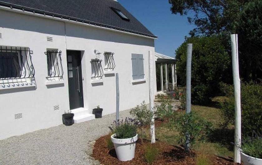 Location de vacances - Villa à Plouhinec - L'entrée de la maison.