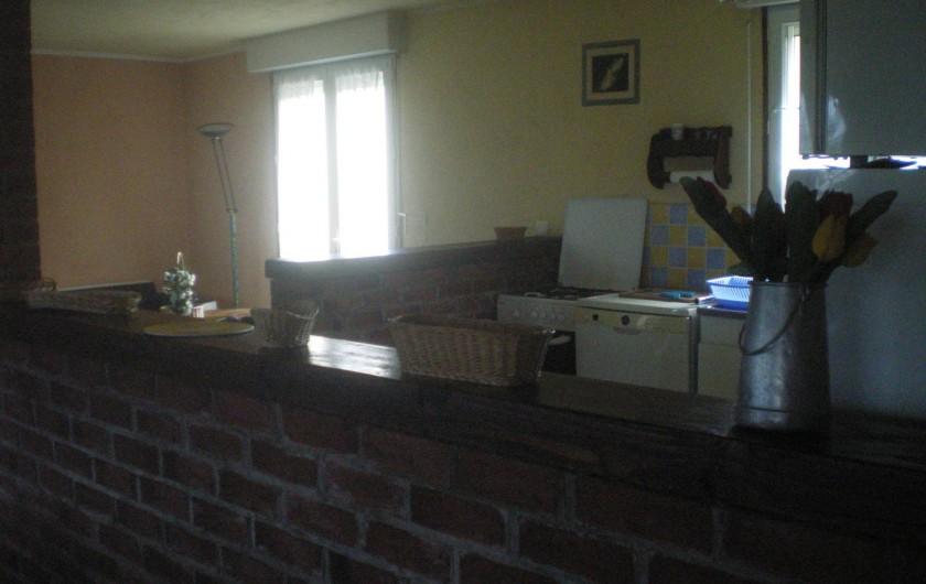 Location de vacances - Villa à Friville-Escarbotin - cuisine