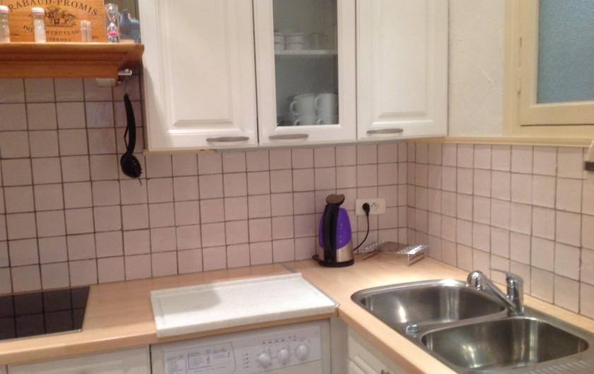 Location de vacances - Appartement à Perpignan - CUISINE