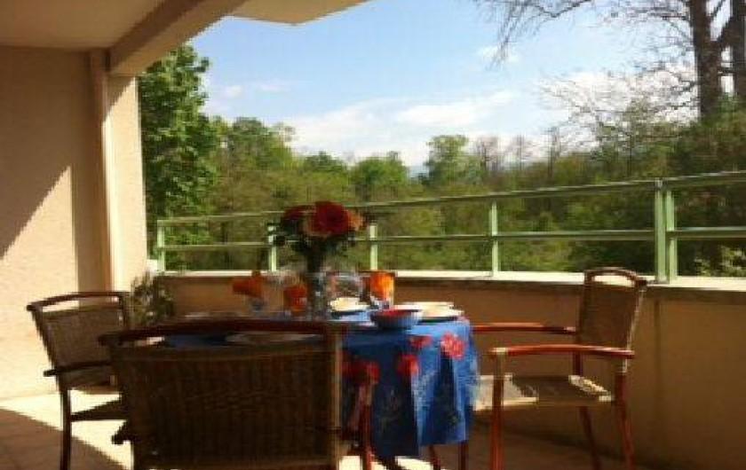 Location de vacances - Appartement à Chatuzange-le-Goubet