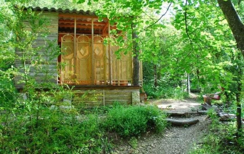 Location de vacances - Yourte à La Roche-sur-le-Buis