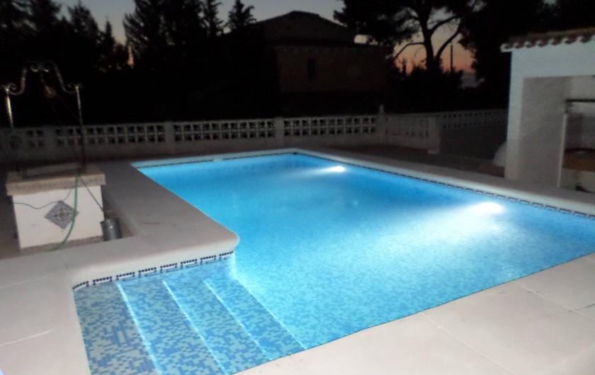 Location de vacances - Villa à Dénia - PISCINE 8X4