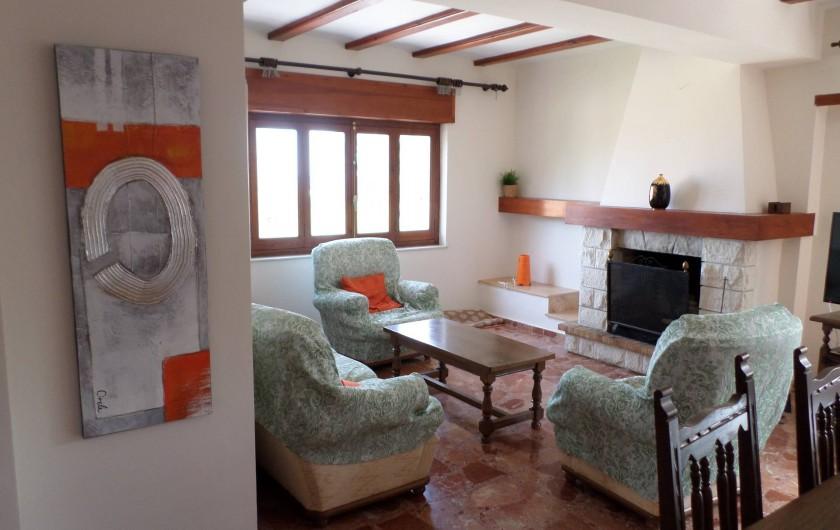 Location de vacances - Villa à Dénia - SALON