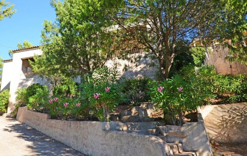 Location de vacances - Villa à Porto-Vecchio - PARC BOISEE DANS LA RESIDENCE