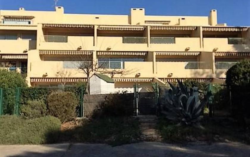 Location de vacances - Appartement à Bandol - RESIDENCE