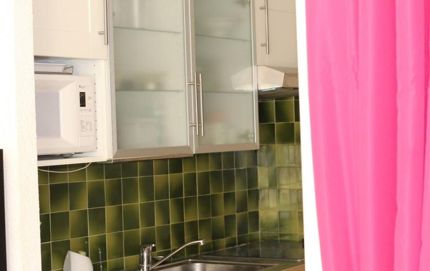 Location de vacances - Appartement à Bandol - CUISINE