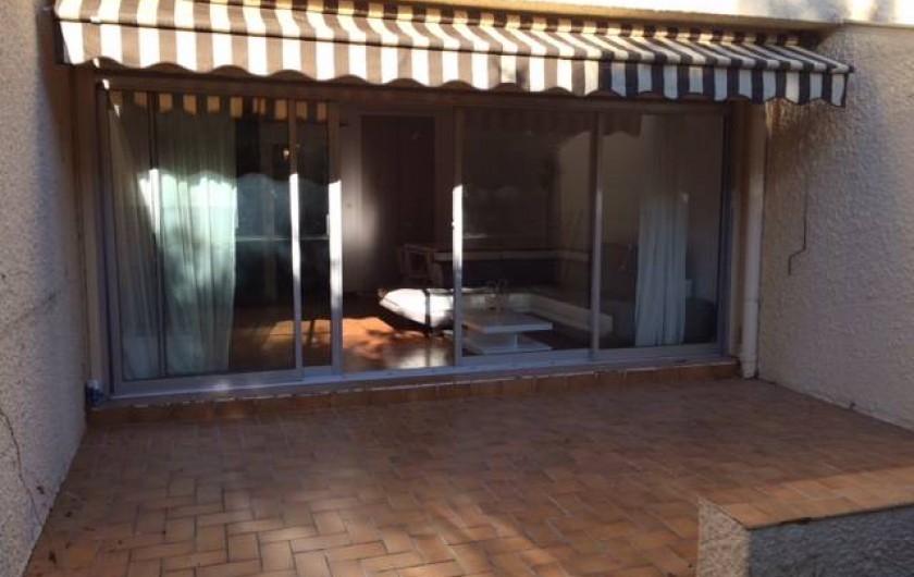 Location de vacances - Appartement à Bandol - TERRASSE