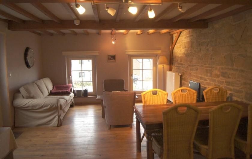 Location de vacances - Gîte à Buissonville - Salon appartement