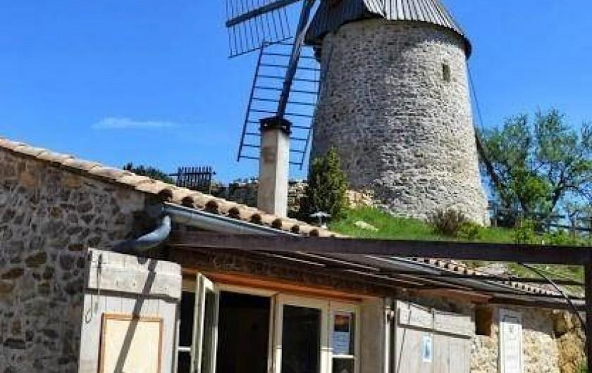 Location de vacances - Gîte à Cucugnan - Moulin et boulangerie