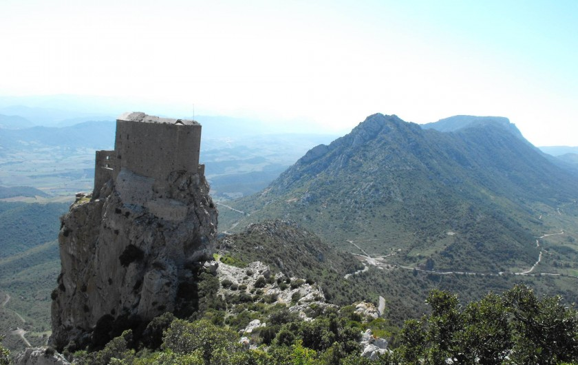 Location de vacances - Gîte à Cucugnan - Château de Quéribus