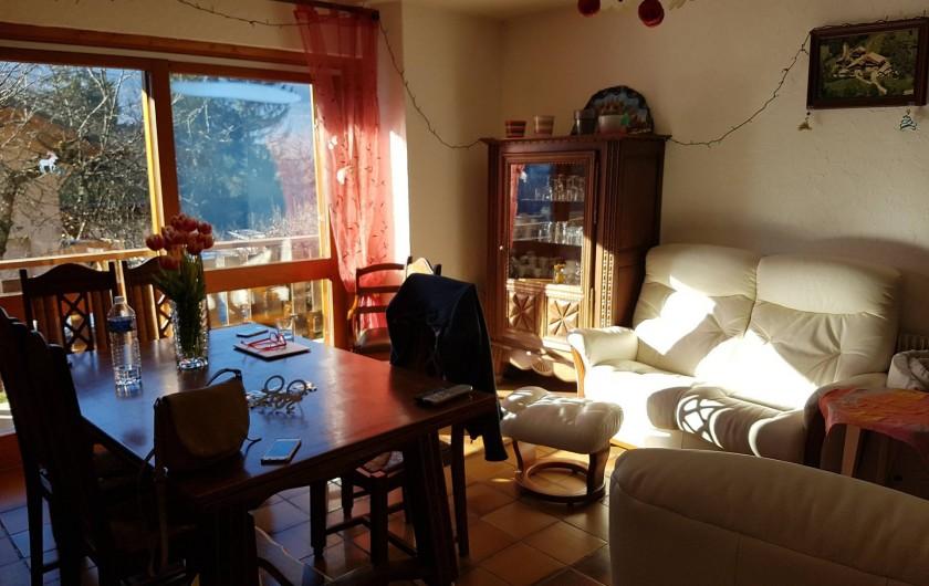 Location de vacances - Appartement à Samoëns - Salon