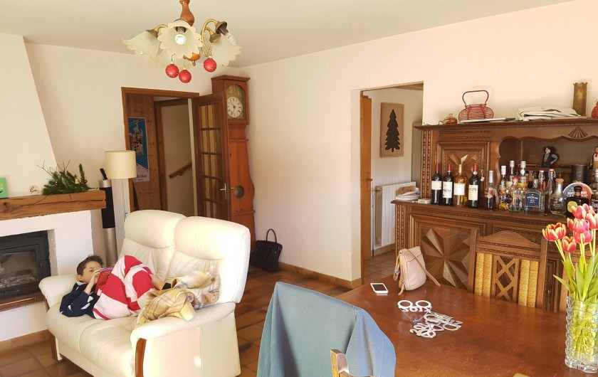 Location de vacances - Appartement à Samoëns - Salon