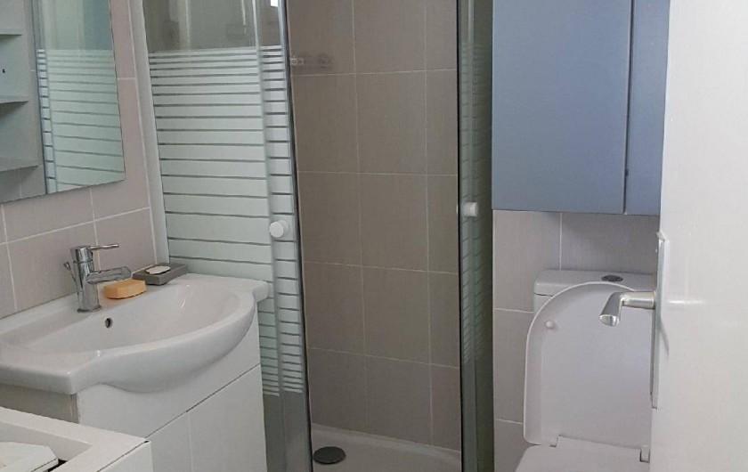 Location de vacances - Appartement à Port Leucate - SDB/douche