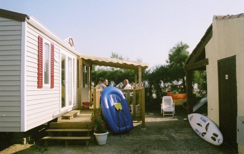 Location de vacances - Bungalow - Mobilhome à Leucate - O'phéa 34