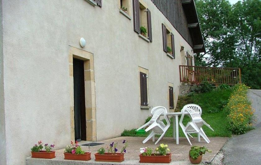 Location de vacances - Appartement à La Favière