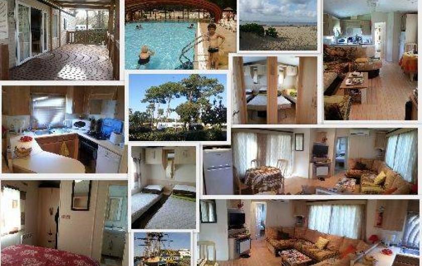 Location de vacances - Camping à Ronce les Bains - MobilHome
