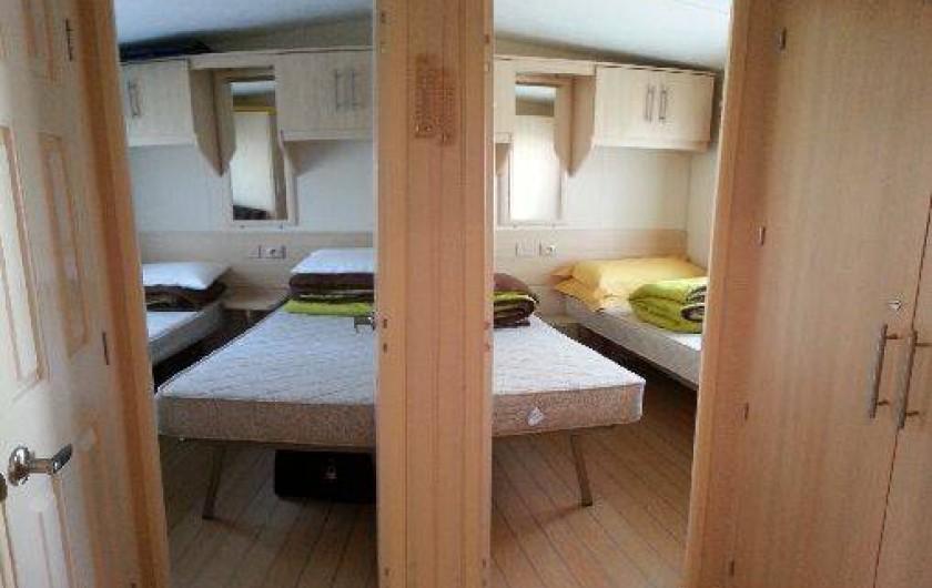 Location de vacances - Camping à Ronce les Bains - les chambres enfants