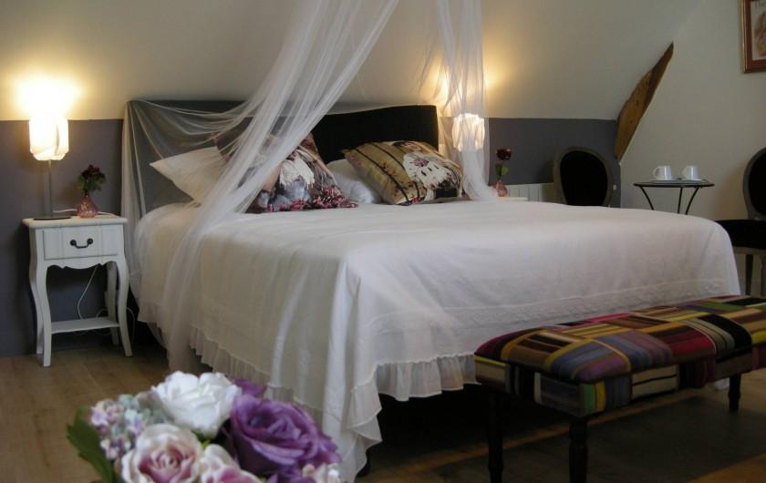 Location de vacances - Chambre d'hôtes à Messas - LE CLOS DE LA VIGNERONNE/CHAMBRE REINE BLANCHE