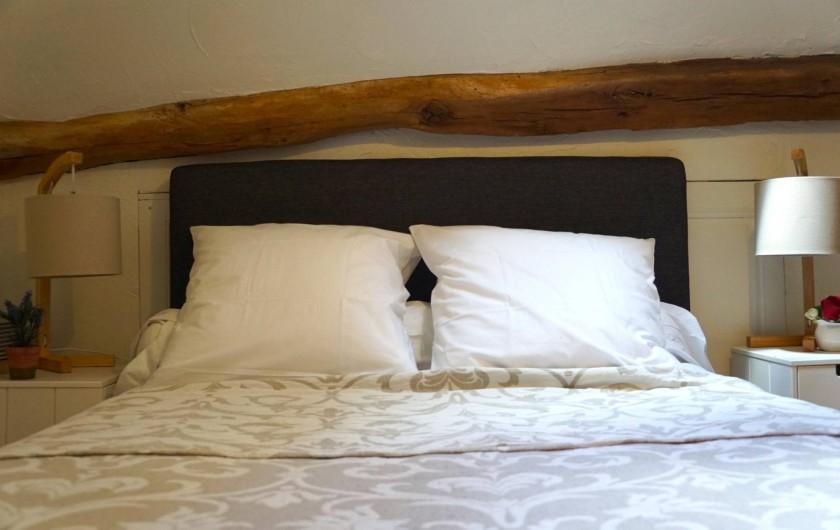 Location de vacances - Chambre d'hôtes à Messas - LE CLOS DE LA VIGNERONNE/ LE GITE_ LIT EN MEZZANINE