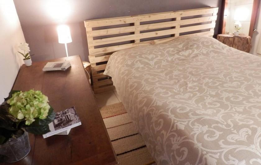Location de vacances - Chambre d'hôtes à Messas - LE CLOS DE LA VIGNERONNE/CHAMBRE 1 LES ECORCES