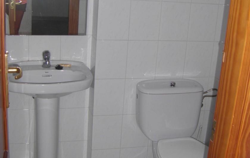 Location de vacances - Appartement à Orihuela - Salle d'eau du RDC