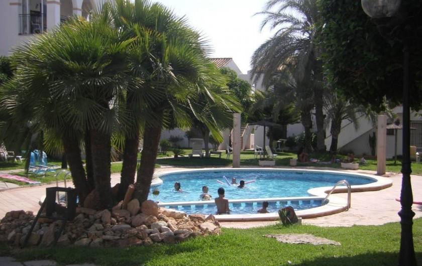 Location de vacances - Appartement à Orihuela - piscine 1