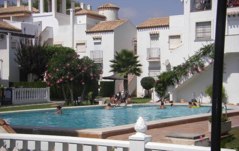 Location de vacances - Appartement à Orihuela - piscine  2