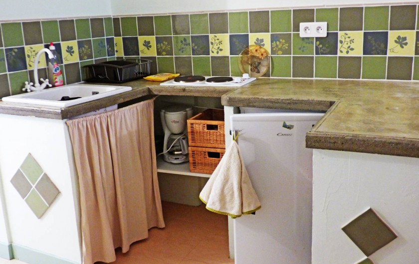 Location de vacances - Studio à Isola - Coin cuisine (studio 1)