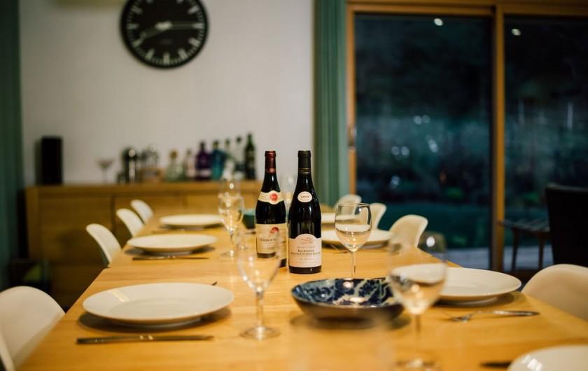 Location de vacances - Chalet à Samoëns - table à manger
