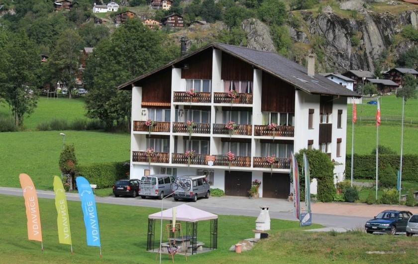 Location de vacances - Appartement à Fieschertal - Cassa Yolanda à Fieschertal