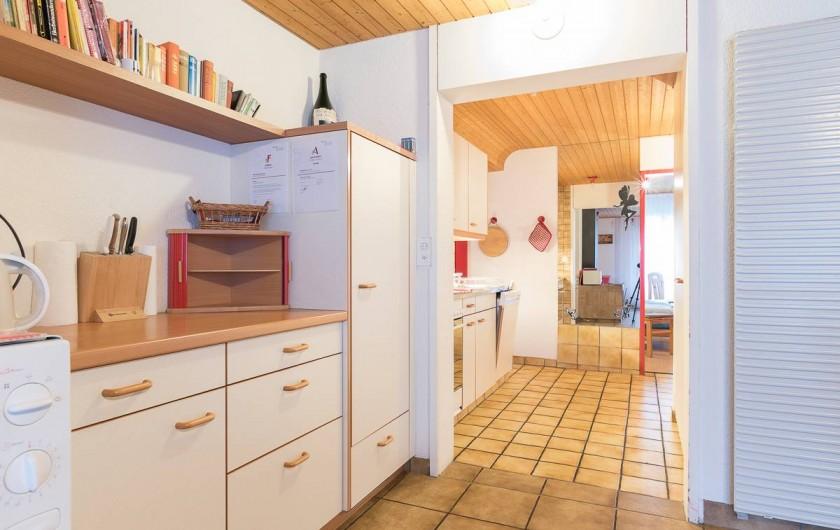 Location de vacances - Appartement à Fieschertal - Cuisine Appartemetn Seppi