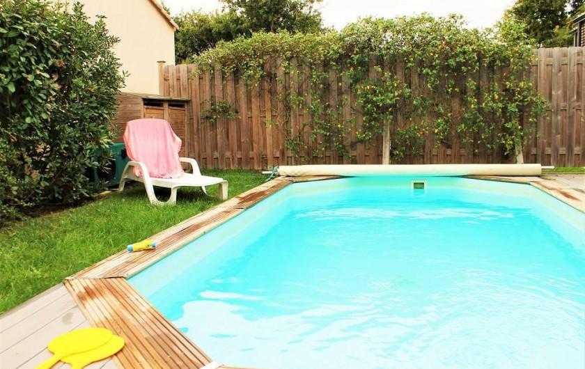 Location de vacances - Villa à Talmont-Saint-Hilaire - petit jardin clos et arboré