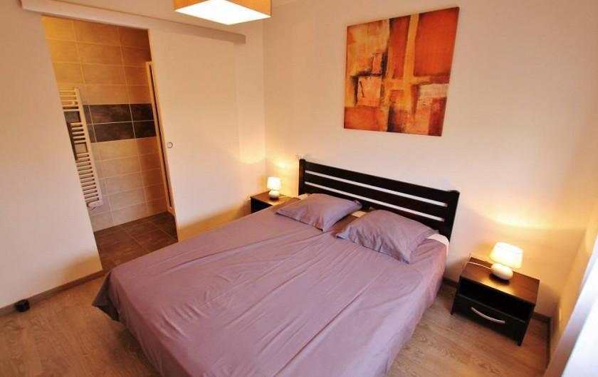 Location de vacances - Villa à Talmont-Saint-Hilaire - Suite parentale
