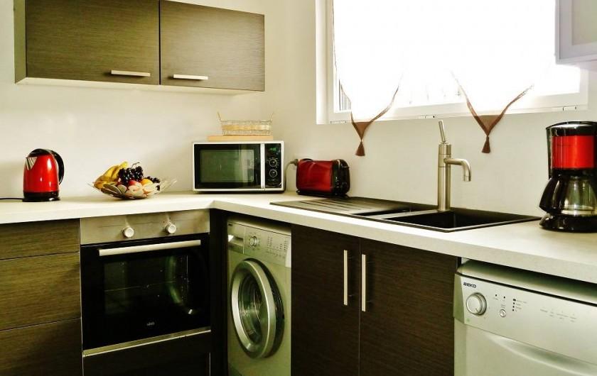 Location de vacances - Villa à Talmont-Saint-Hilaire - cuisine équipée