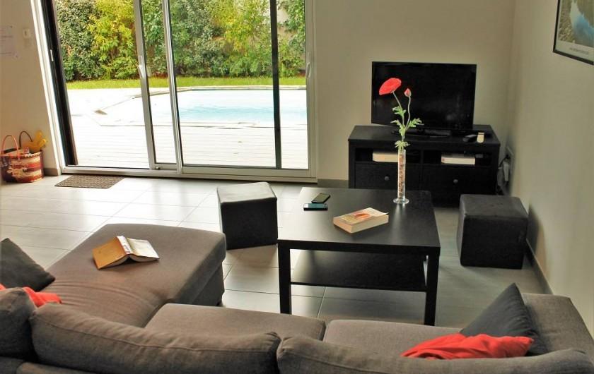 Location de vacances - Villa à Talmont-Saint-Hilaire - Tv + wifi + dvd + enceintes multimédia