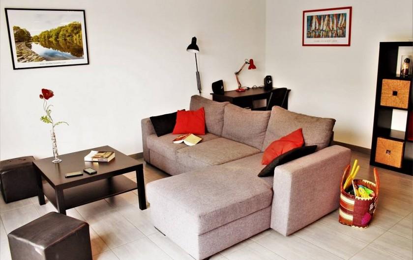 Location de vacances - Villa à Talmont-Saint-Hilaire - salon
