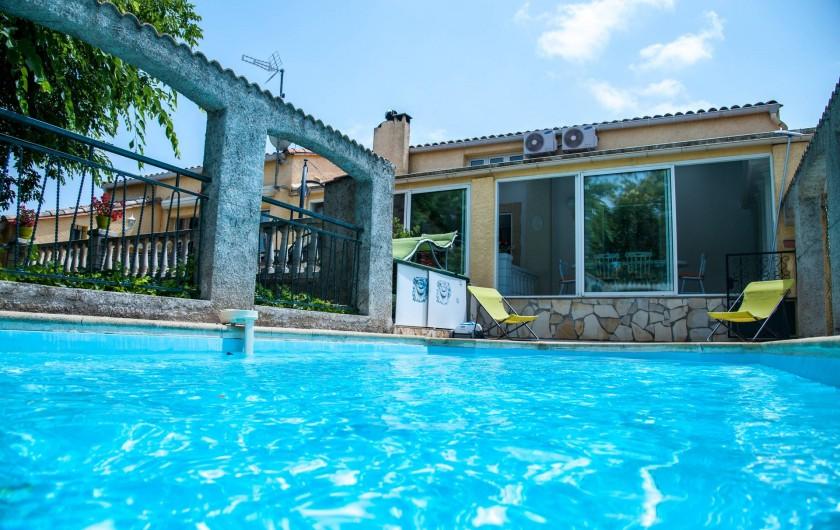 Location de vacances - Gîte à Béziers - PISCINE