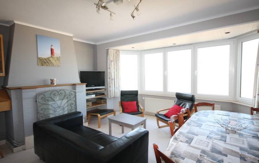 Location de vacances - Appartement à La Panne - Living