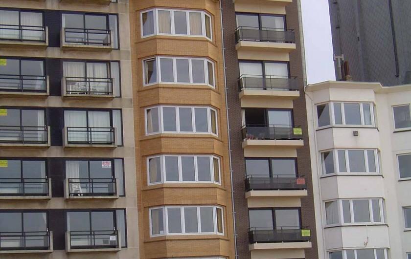 Location de vacances - Appartement à La Panne - Immeuble extérieur
