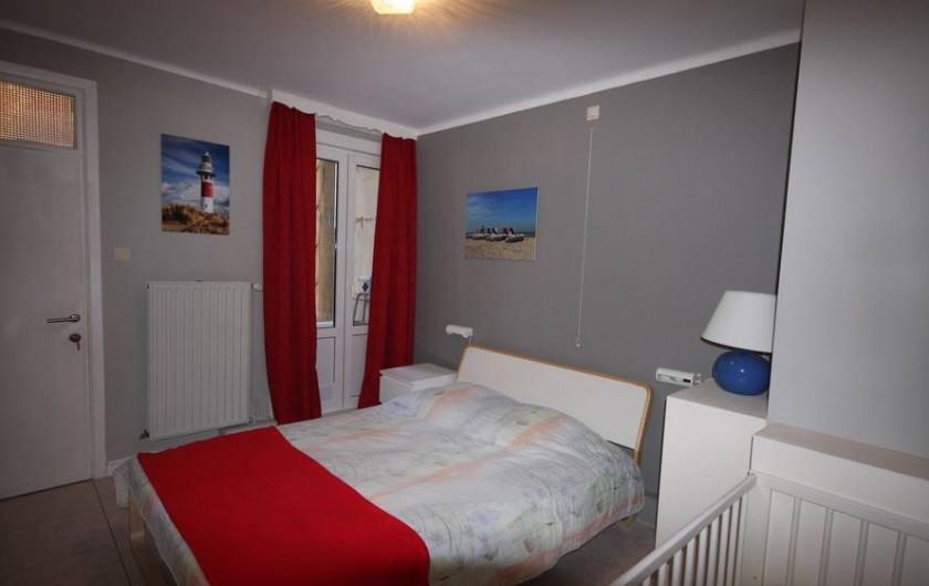 Location de vacances - Appartement à La Panne - Chambre 1 : 1 lit double