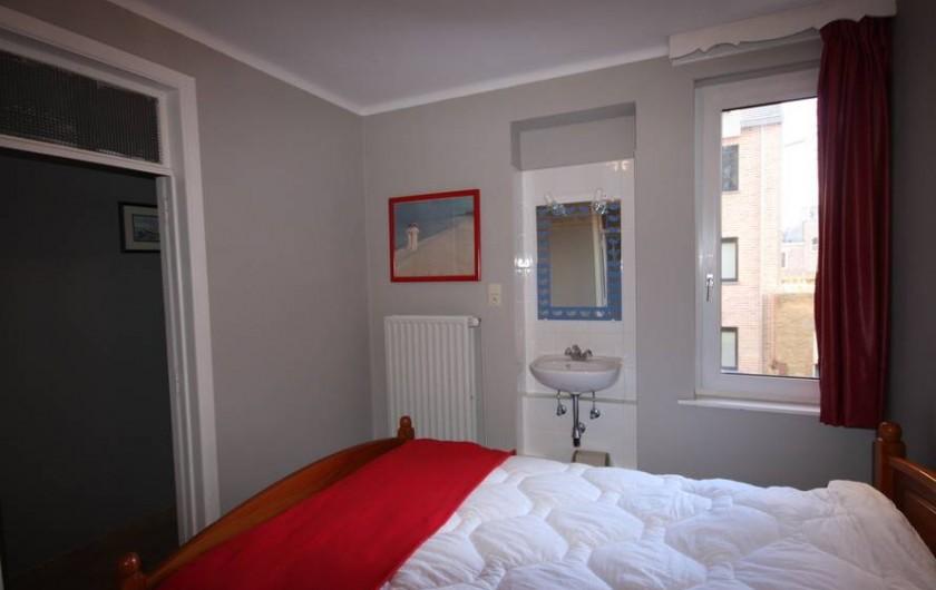 Location de vacances - Appartement à La Panne - Chambre 2 : 1 lit double
