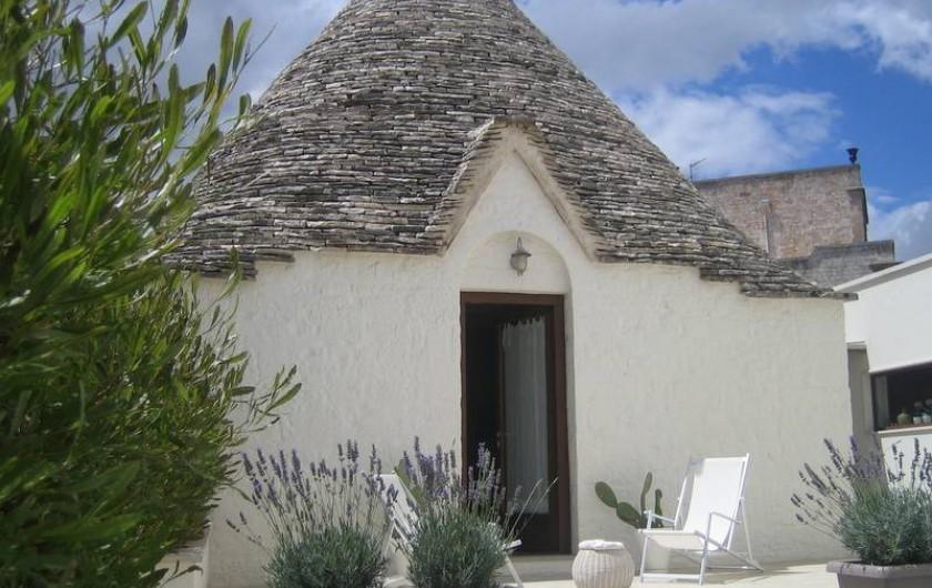 Location de vacances - Maison - Villa à Alberobello - Trullo de l'olivier -  cour