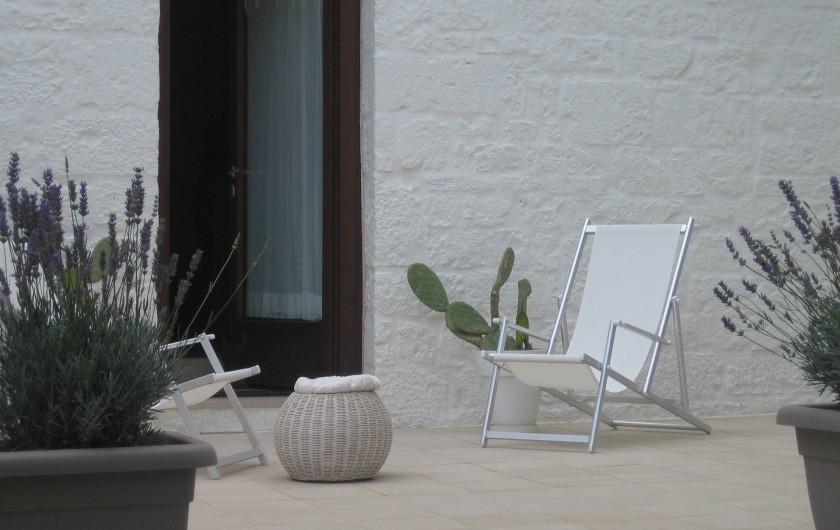 Location de vacances - Maison - Villa à Alberobello - Porte du salon