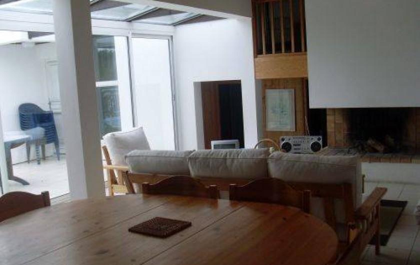 Location de vacances - Maison - Villa à Sainte-Marie-de-Ré - Pièce à vivre