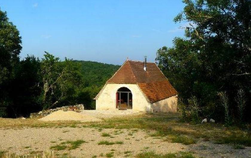 Location de vacances - Gîte à Lentillac-du-Causse - Entrée sur la pièce de vie plein est