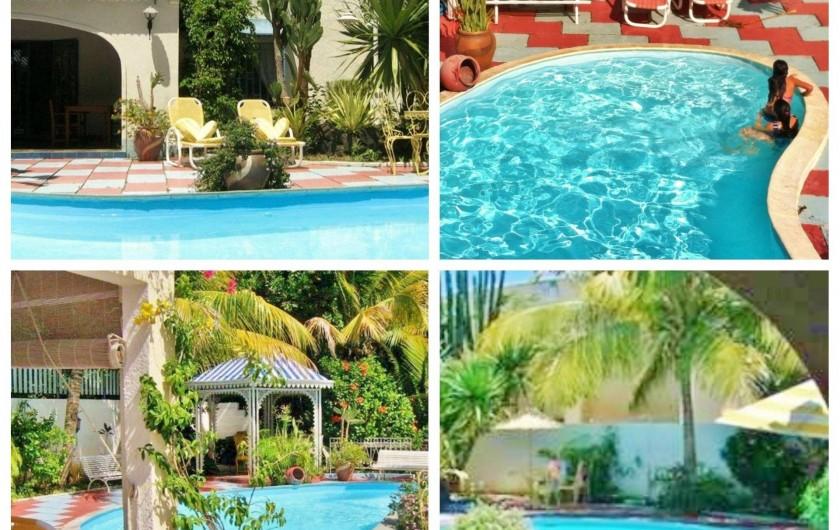 Location de vacances - Villa à Pereybere - Piscine