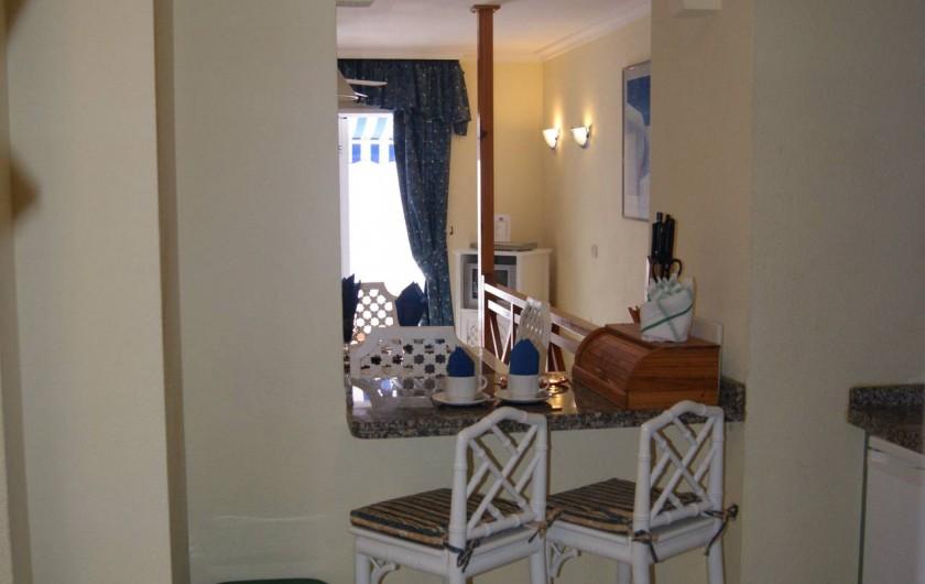 Location de vacances - Appartement à Los Cristianos - Passe plat cuisine vers s à m