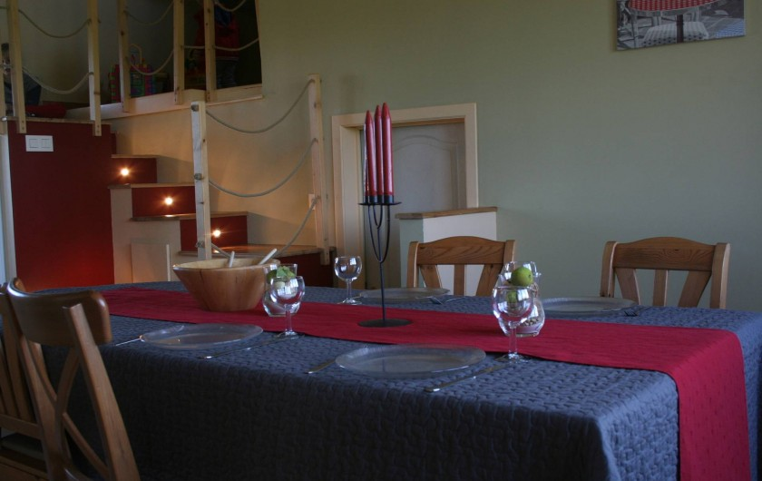 Location de vacances - Maison - Villa à Hotton - Salle à manger