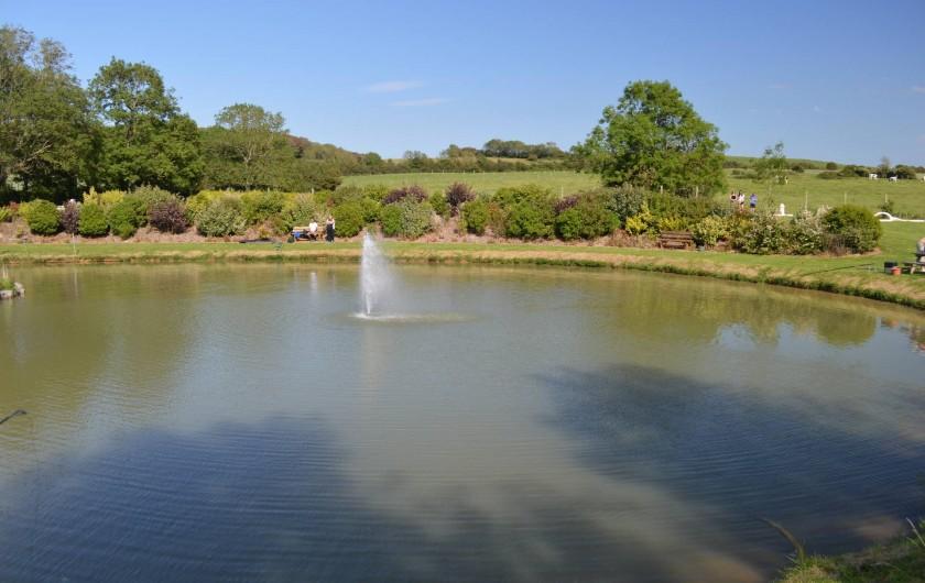 Location de vacances - Camping à Wacquinghen - l'étang de pêche (gratuit)